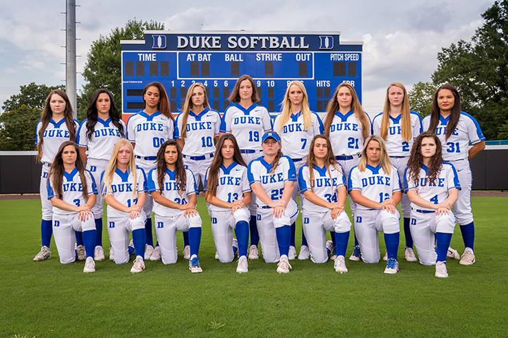 This fall, the Duke softball team will take the field for a handful of exhibition contests.