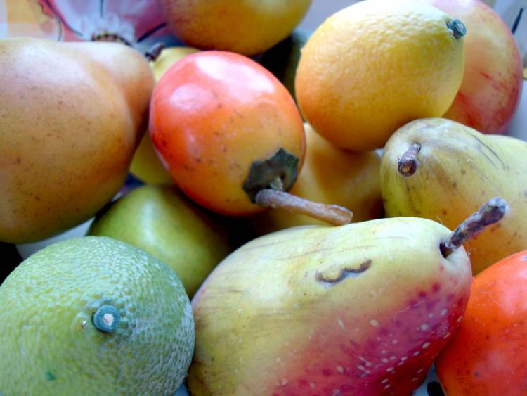 Fruit colors are believed to attract animals to feed on them, but what if the animals don't see color the way we do? Via publicdomainpictures.net