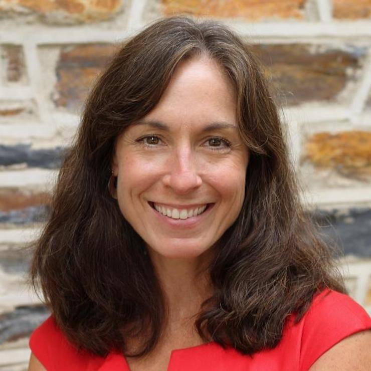 Sue Mathias, communications consultant for the Pratt School of Engineering. Photo courtesy of Sue Mathias.