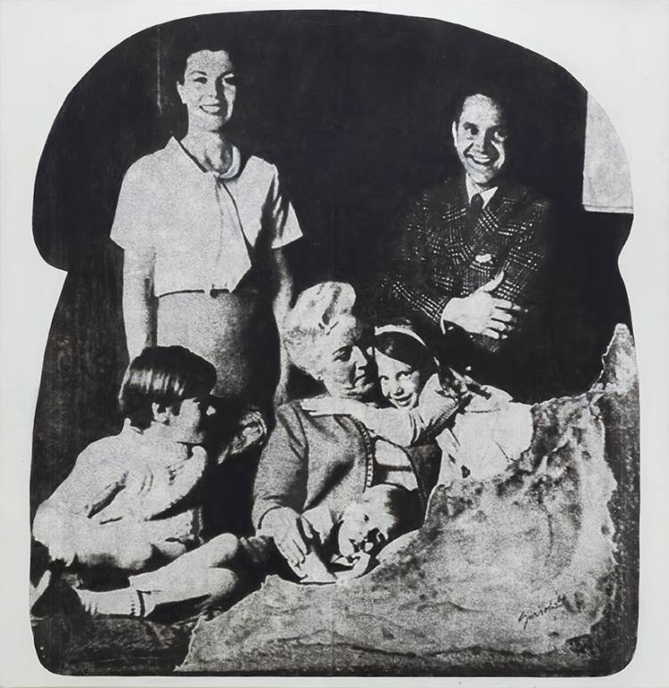 JUAN JOSÉ GURROLA, FAMILIA KOOL AID (KOOL AID FAMILY) FROM THE SERIES DOM-ART, 1962/66.