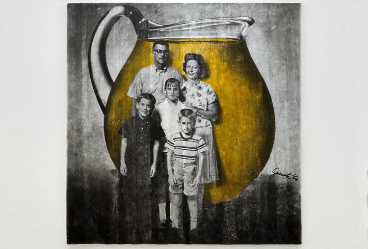 Juan José Gurrola, Familia Kool Aid (Kool Aid Family) from the series Dom-Art, c. 1966–1967.