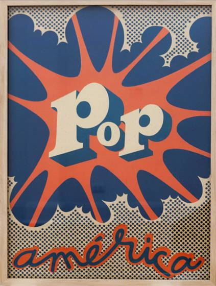 HUGO RIVERA SCOTT, POP AMÉRICA, 1968