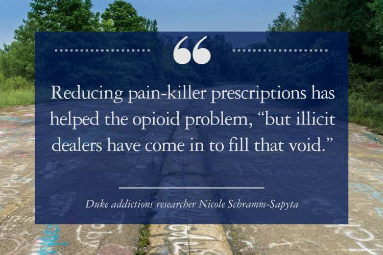 Nicole Schramm-Sapyta on heroin as a driver of opioid abuse