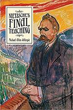 book cover of Michael Gillespie's study of Nietzsche