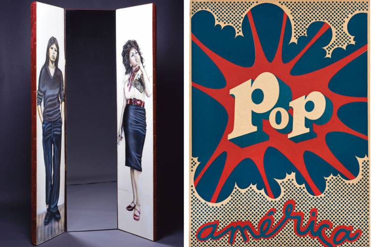 Hugo Rivera-Scott, Pop América, 1968; Hugo Rivera-Scott, Pop América, 1968.