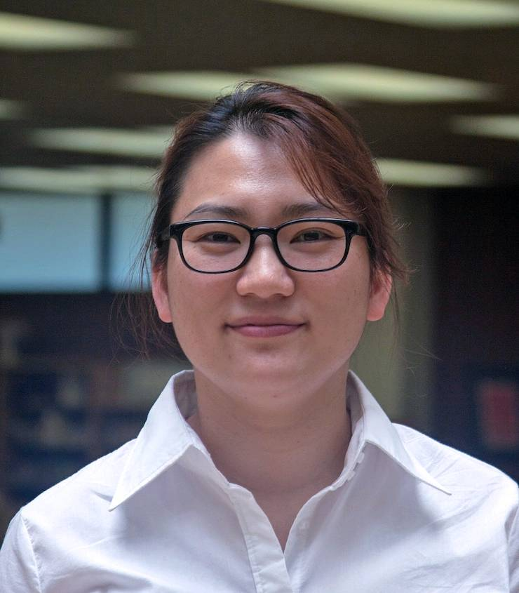 Sarah Park, librarian for engineering and computer science. Photo courtesy of Sarah Park.