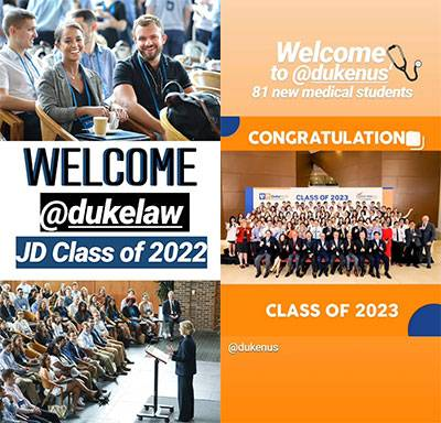 Words of Welcome to Students During Orientation Week | Duke