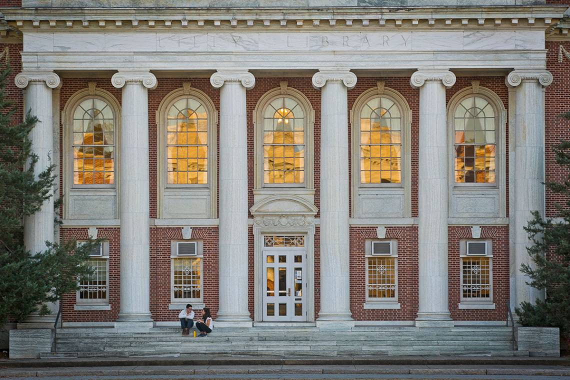 The Lilly Library will be renovated.