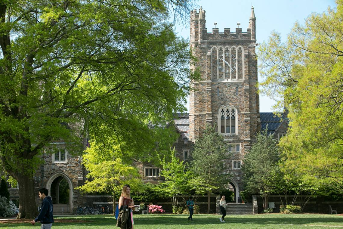Duke's Clocktower Quad