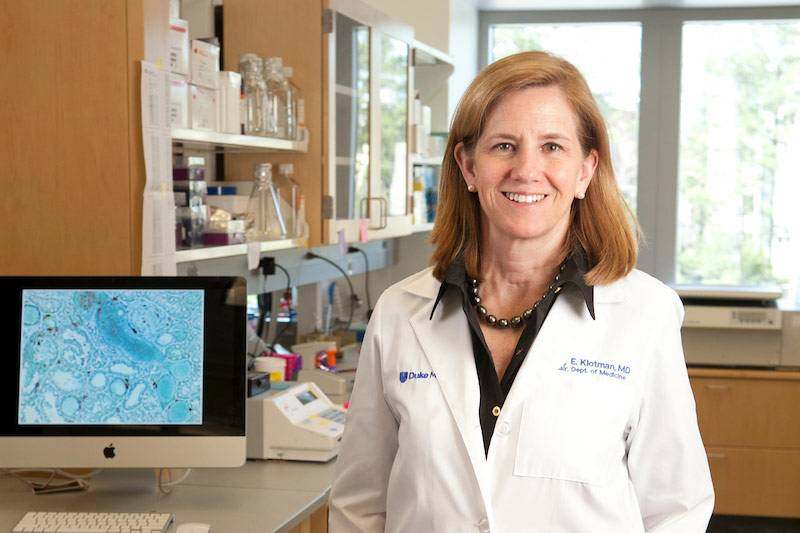 Dr. Mary Klotman has served as chair of the Duke Department of Medicine for the past seven years. Photo by Duke Photography.