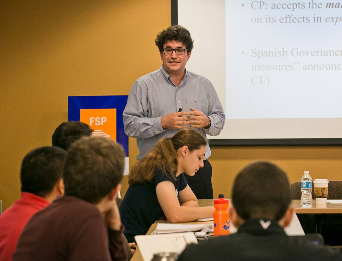 Duke political scientist Pablo Beramendi leads a discussion on Catalonia's controversial independence referendum and the implications for Spain and the European Union.