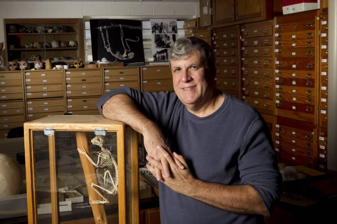 Dr. Gregg F. Gunnell, Director, Division of Fossil Primates, Duke Lemur Center. Photo taken in 2011 by Duke University Photography.