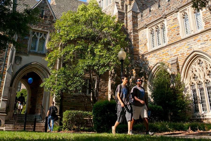 Pledges and donations to Duke increased 5.85 percent during the past fiscal year.