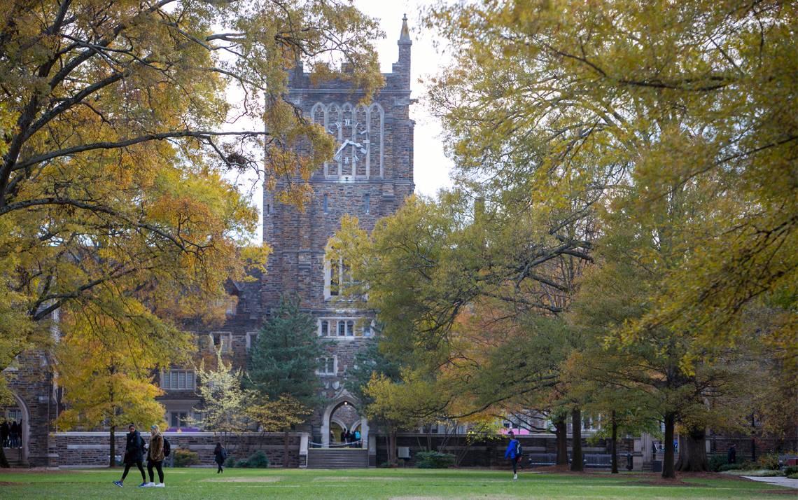 "Forbes named Duke University among its 2017 list of ""Best Employers."