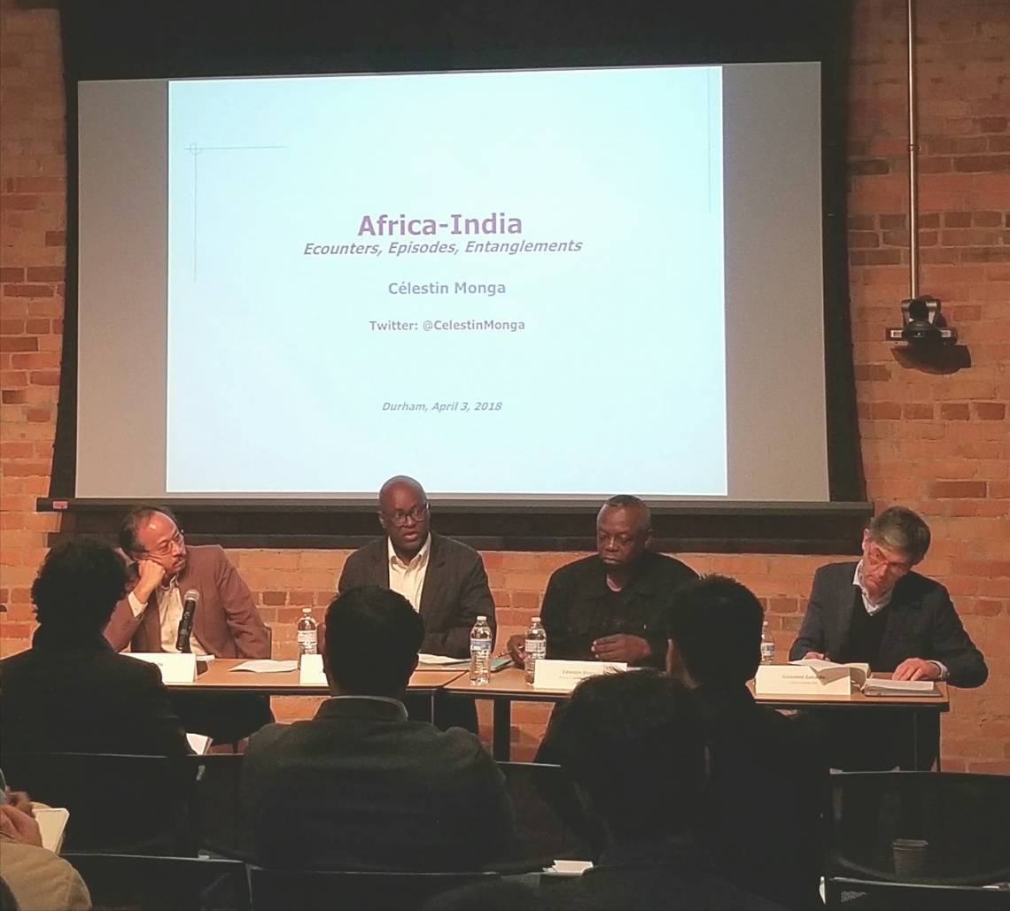 International Scholars Discuss Africa-India Relationship