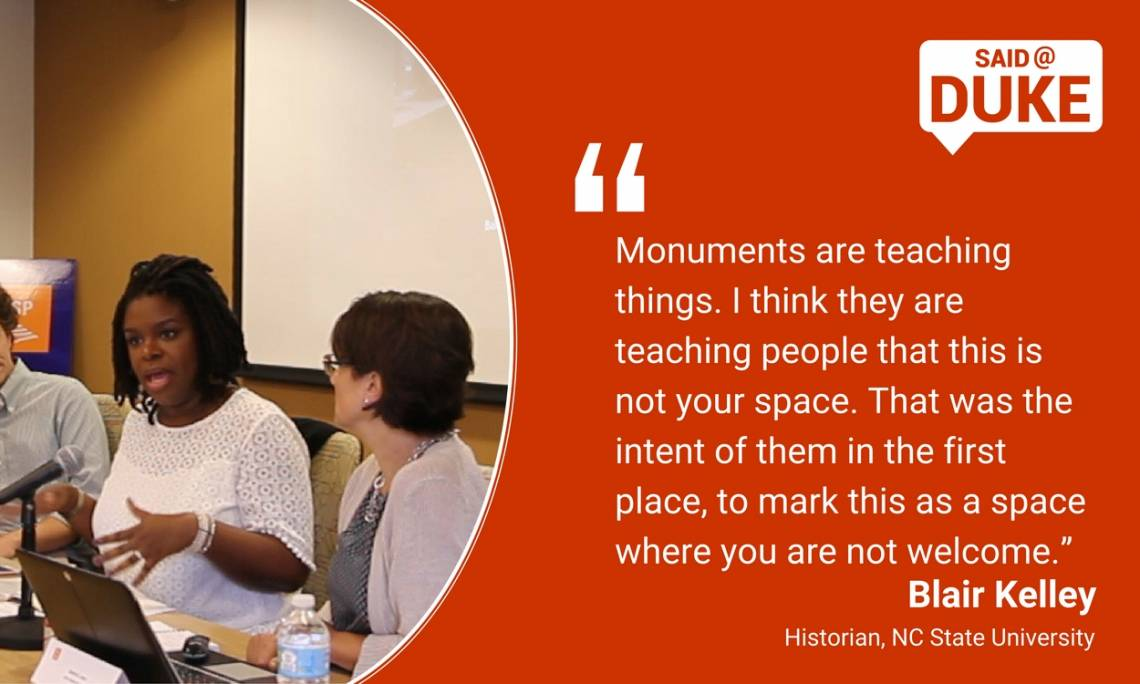 Blair Kelley: Monuments are Teaching Things