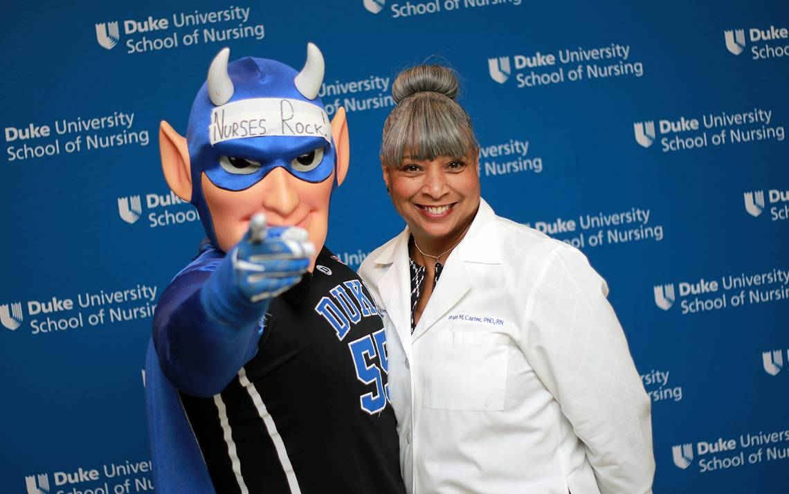 Brigit Carter is the Duke University School of Nursing's first associate dean for diversity and inclusion.