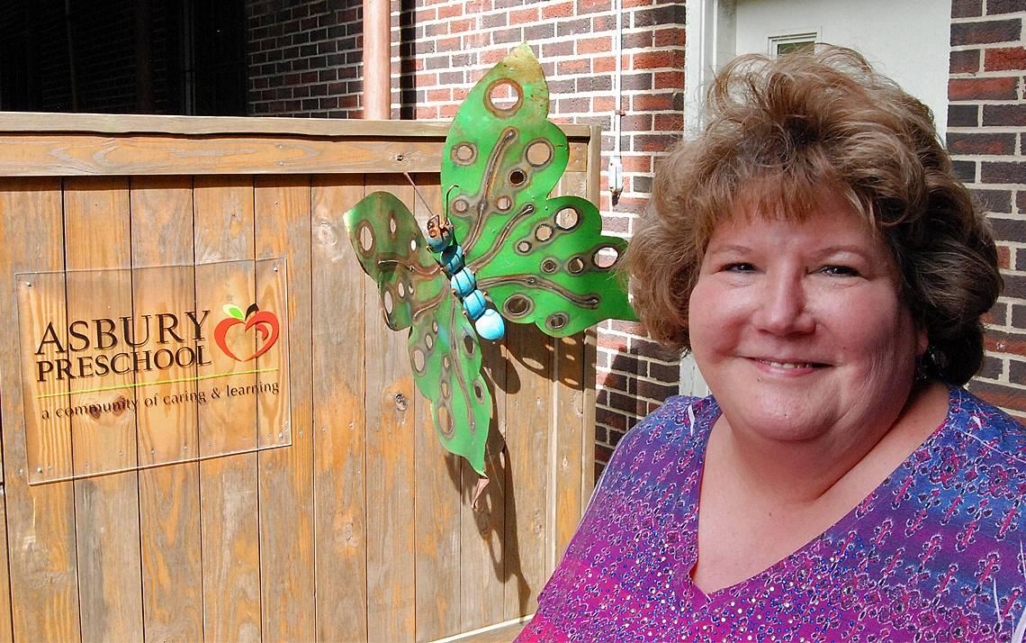 Nancy Lehman, director of the Asbury Preschool, calls her center's involvement in the Duke Child Care Partnership a