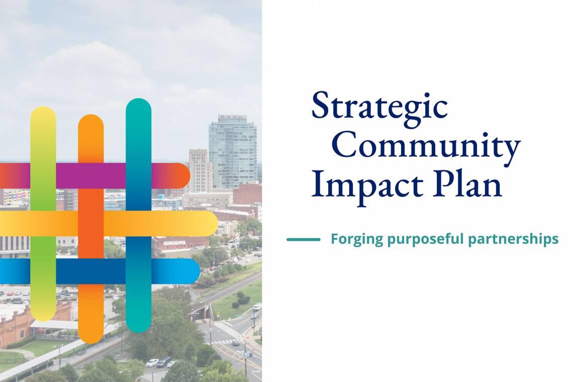 cover of Duke strategic community impact plan