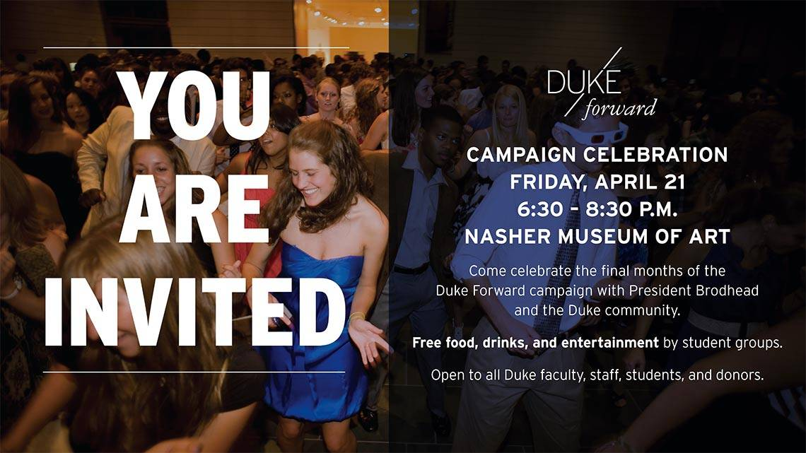 Duke Forward Campaign Celebration