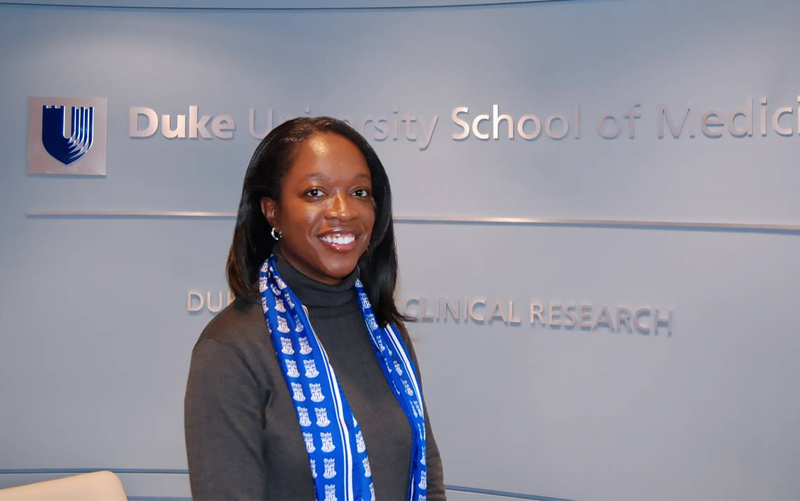 In her role at the Duke Office of Clinical Research, Dalia Mack makes sure researchers get what they need.