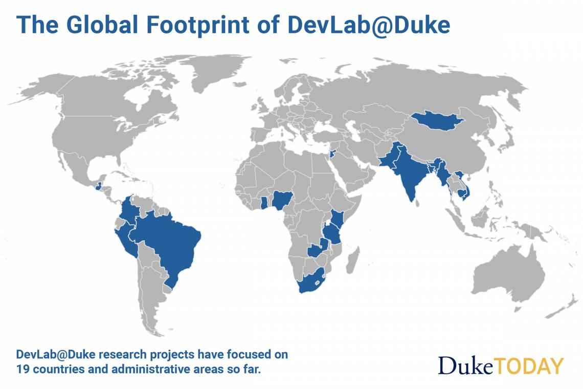Through DevLab@Duke, Students Improve Human Condition Worldwide