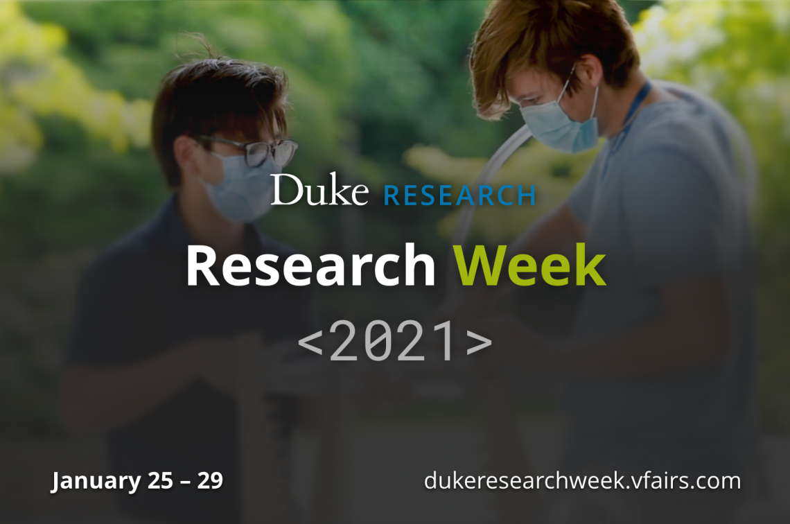 Research Week is January 25-29