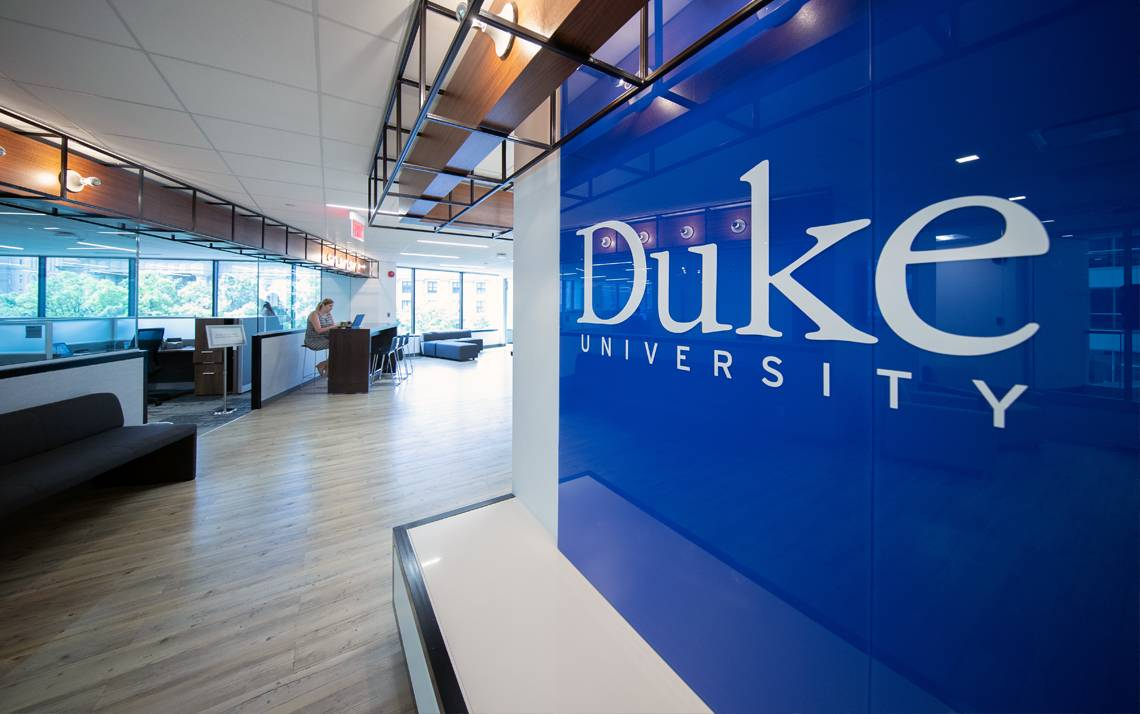 The interior of the Duke in DC office.