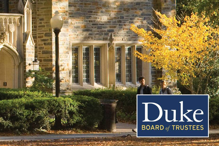 Duke Trustees approved construction projects and received updates on a range of financial, academic and student life matters