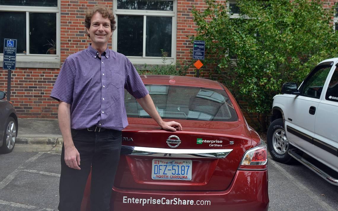 Enterprise CarShare partnership offers Duke community members discounted rates