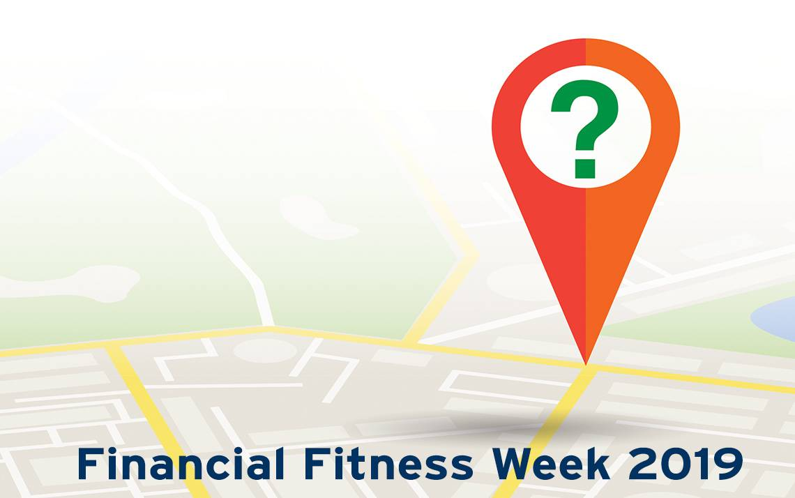 Financial Fitness Week Graphic