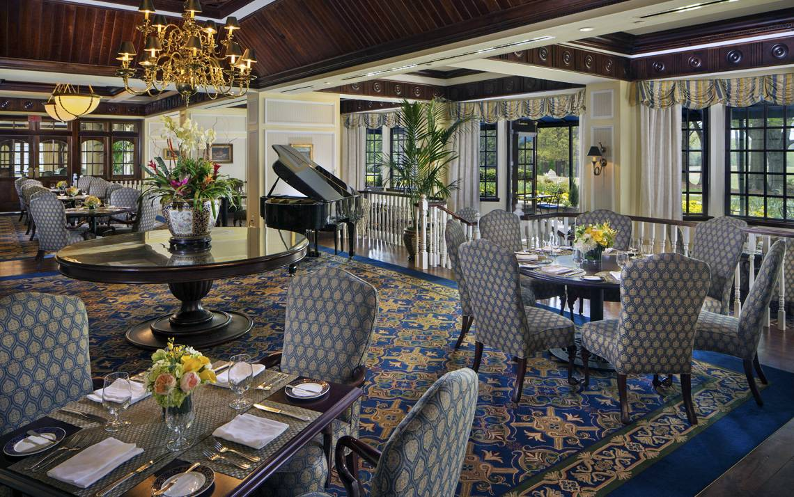 Members of the Washington Duke Inn & Golf Club's Executive Club earn discounts at the Fairview Dining Room.