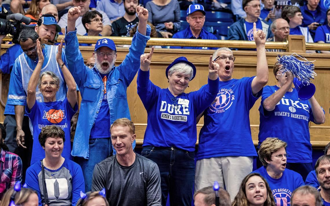Duke women's basketball fans.