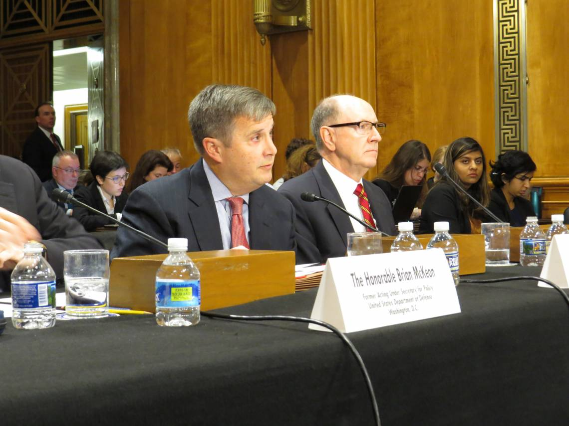 Peter Feaver testified Tuesday before the Senate Foreign Relations Committee