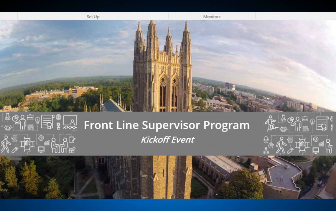 The Front Line Supervisor Program's newest cohort began in October, offering the chance for new supervisors to development their business and interpersonal skills.