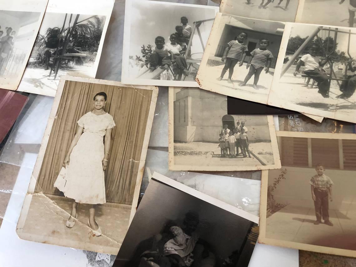 Photos from Tamika Galanis' family album in the Bahamas.