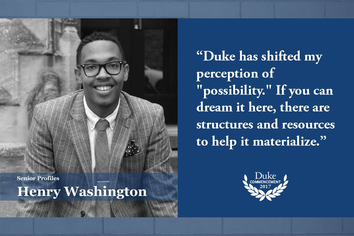 Henry Washington: Duke has shifted my perception of
