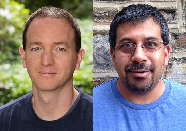 Duke professors Peter Hoff and Sayan Mukherjee have been named Fellows of the Institute of Mathematical Statistics (IMS).