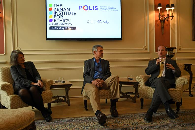 Leslie Winner, Fritz Mayer and John Hood explore how to have a dialogue in polarized times.