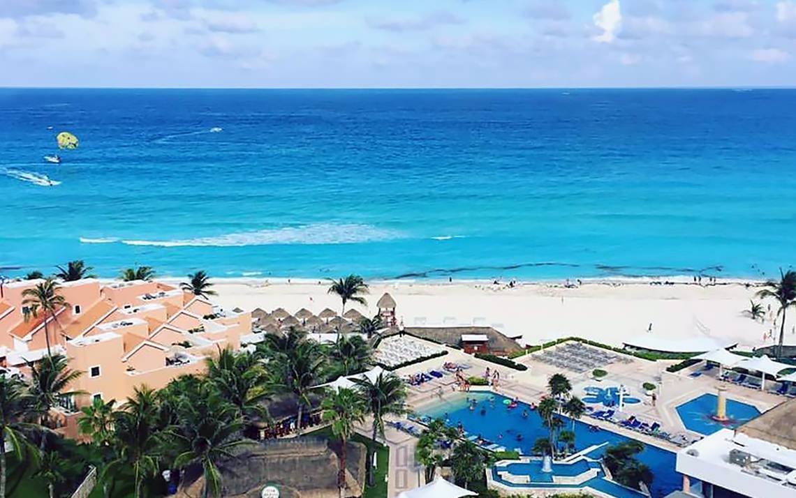 Jay Arzola captured this image while savoring the last day of his recent trip to Cancun. Mexico.