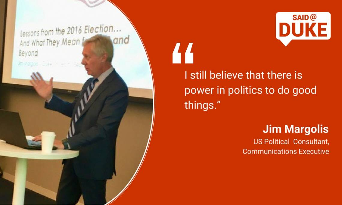 Jim Margolis: I believe there is power in politics to do good things
