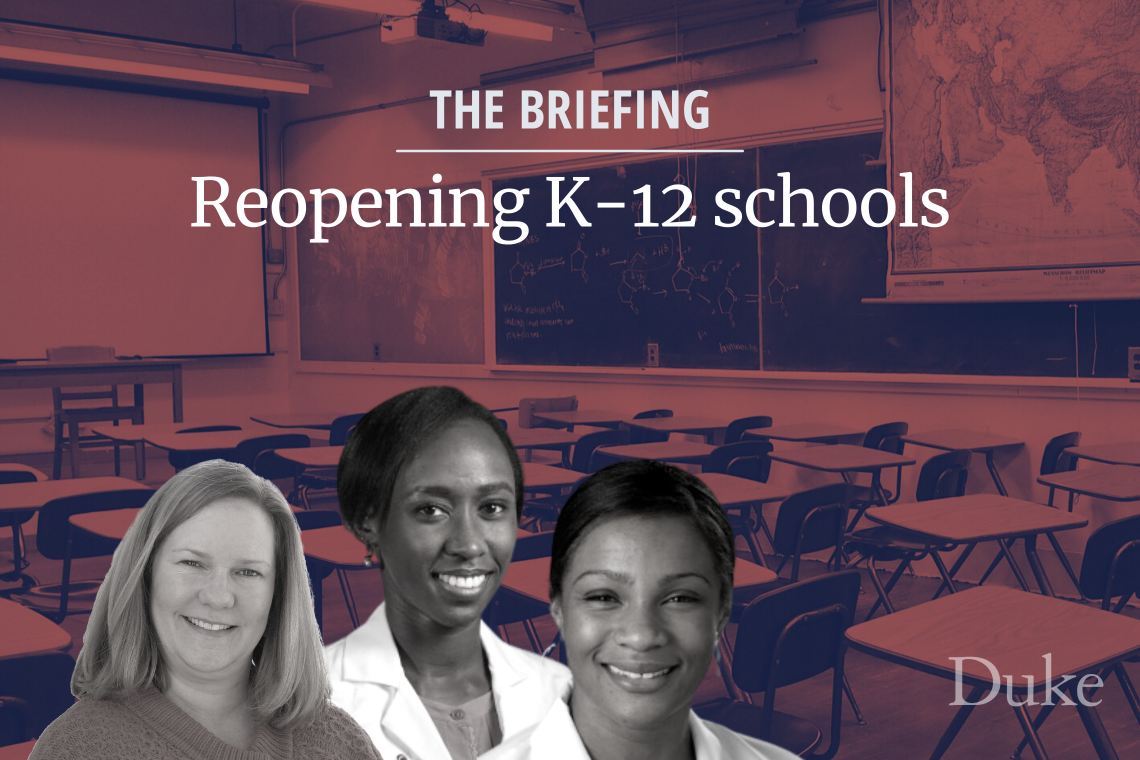Masks, Distancing, Hand-washing Crucial for Reopening Schools