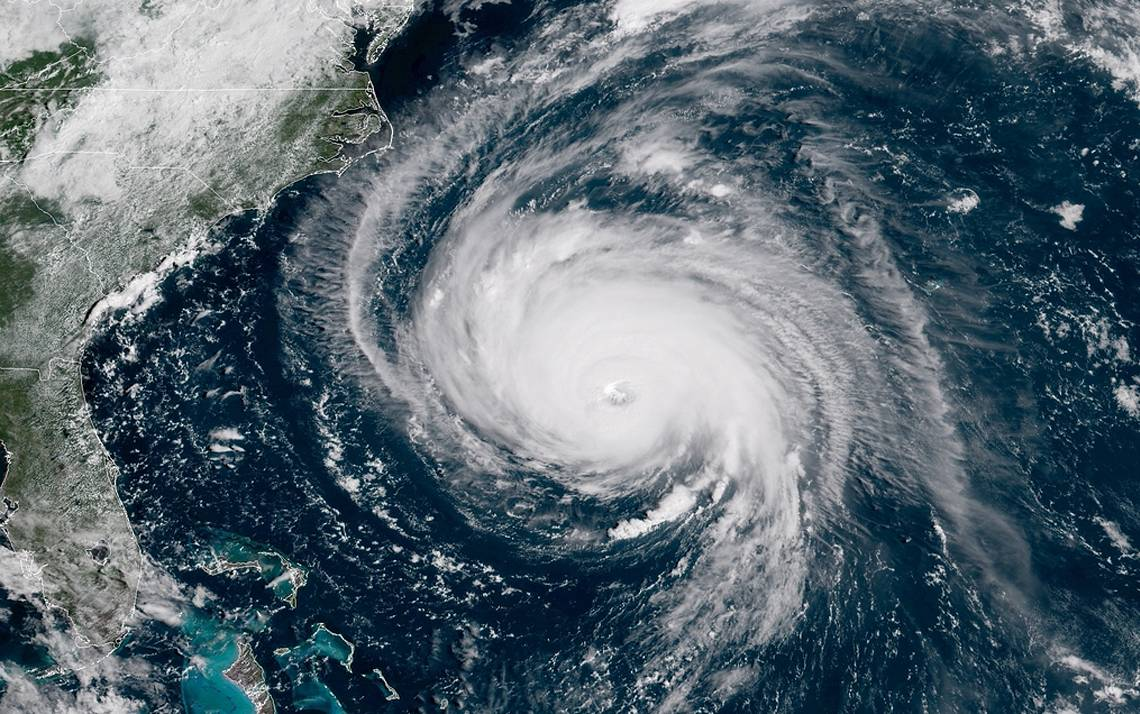 Hurricane Florence barreling toward North Carolina.