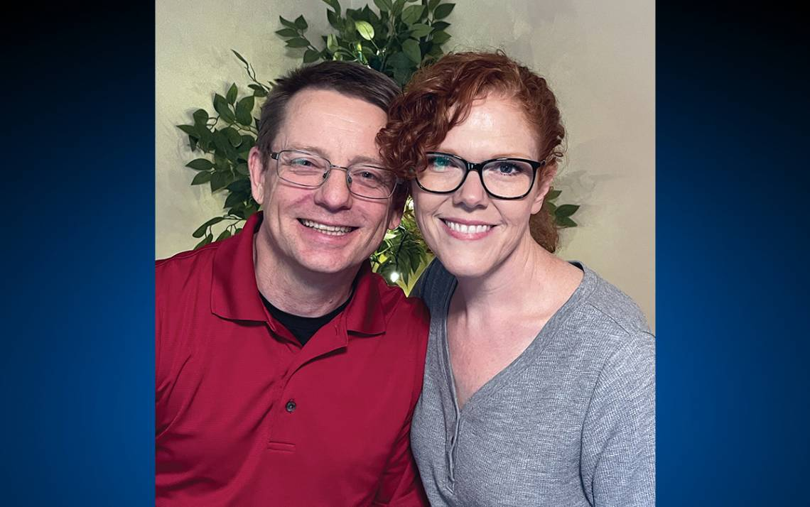 Michael Juday with his wife, Tina. Photo courtesy of Michael Juday.