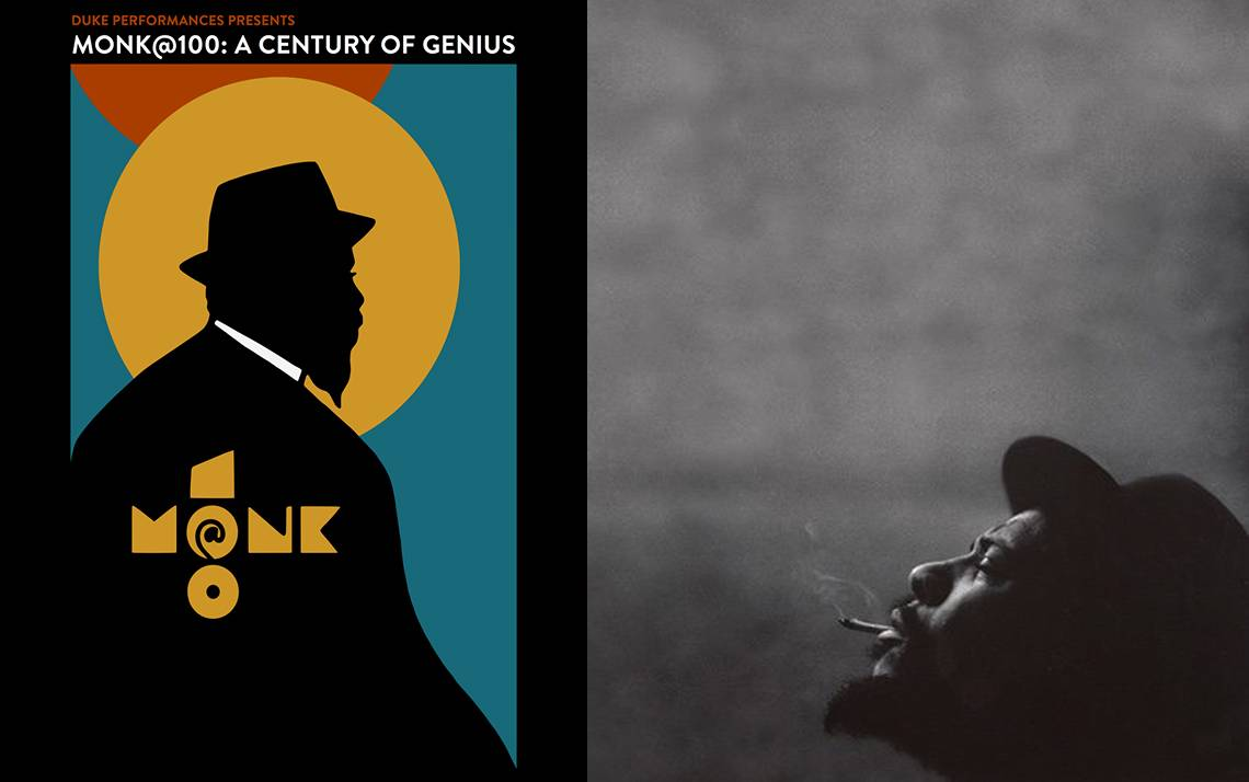 Duke Performances' Monk@100 festival will celebrate the work of jazz great Thelonious Monk.