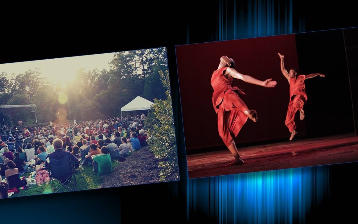 Get discounts to the American Dance Festival and Music in the Gardens.