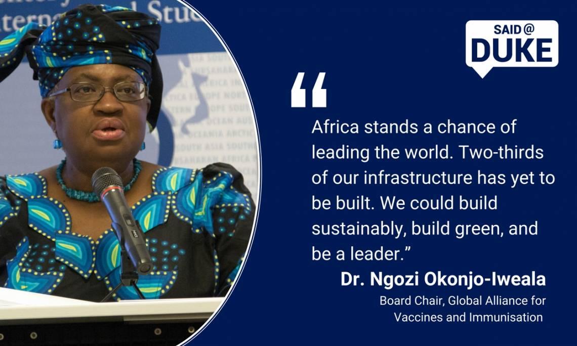 Ngozi Okonjo-Iweala on Africa's economic opportunity