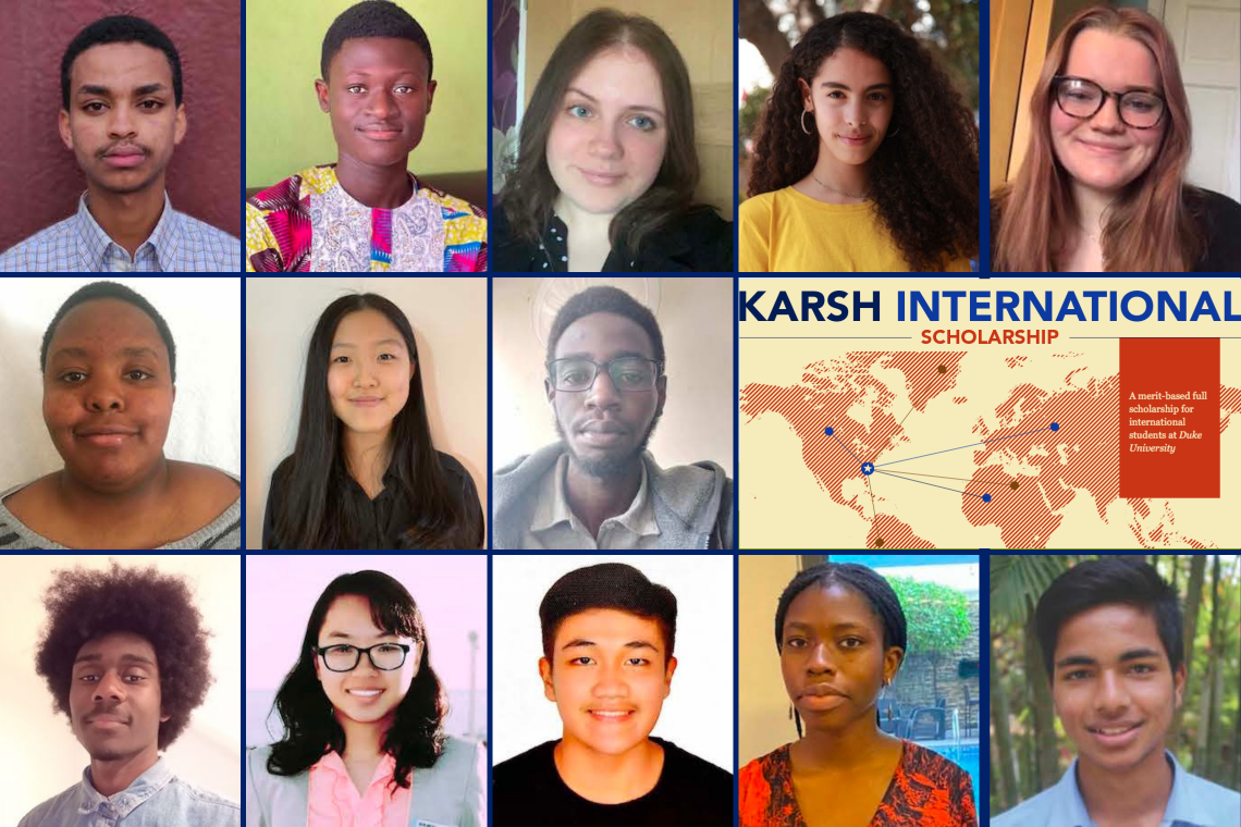 The Karsh International Scholars from the Class of 2025
