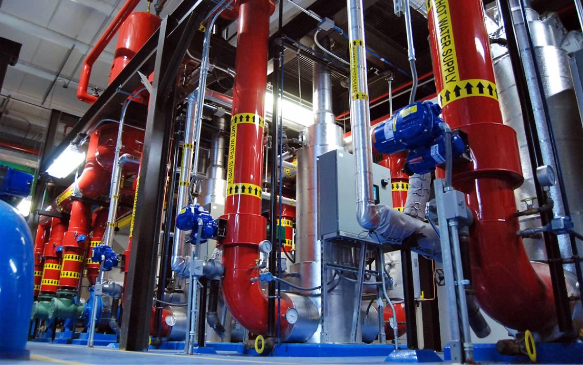 Duke's new Hot Water Plant No. 2