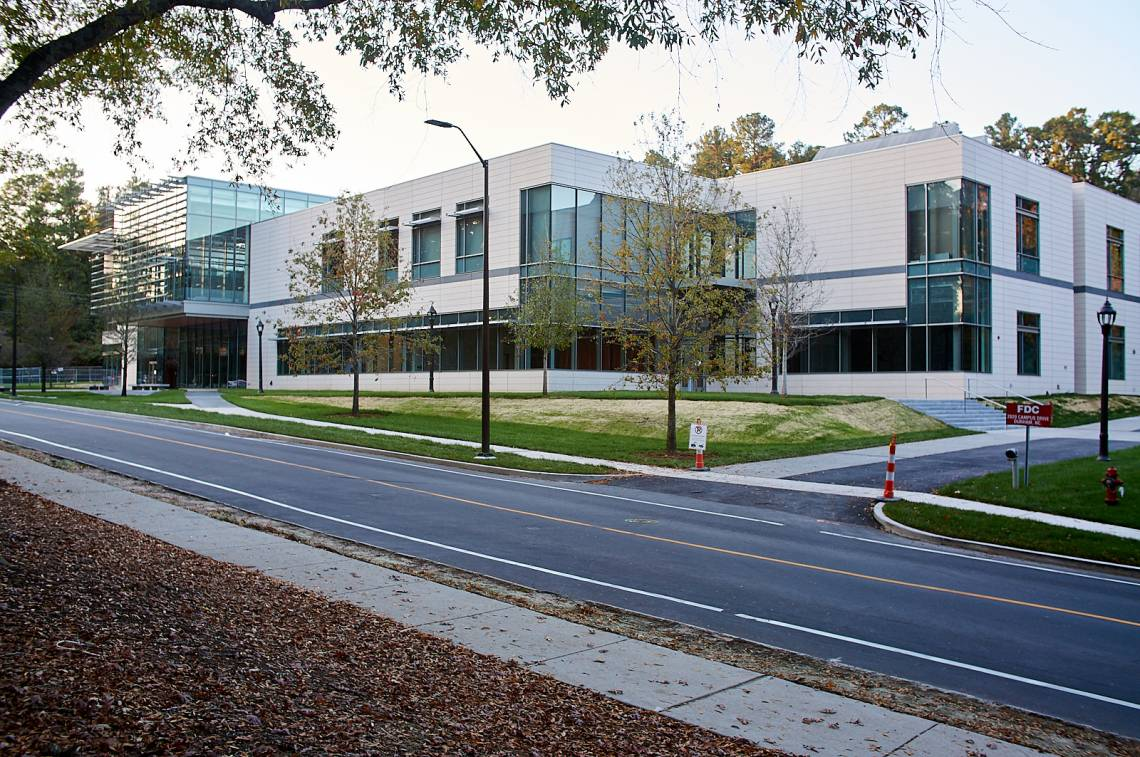 Duke's new Rubenstein Arts Center Opens January 8, 2018